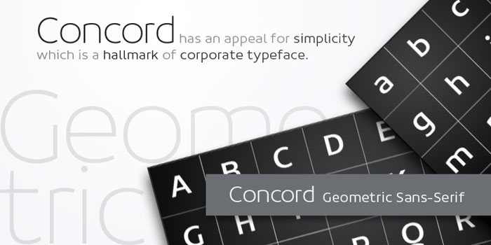 Concord Download these futuristic fonts and create awesome typography designs