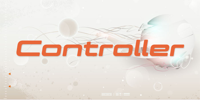Controller Download these futuristic fonts and create awesome typography designs