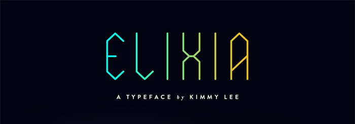 Elixia Download these futuristic fonts and create awesome typography designs