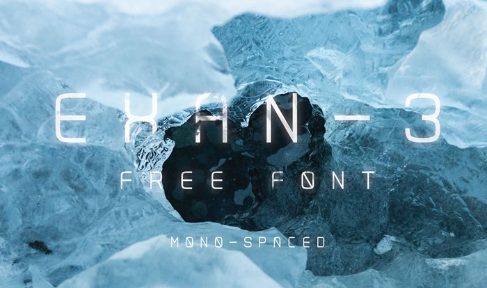 Exan Download these futuristic fonts and create awesome typography designs