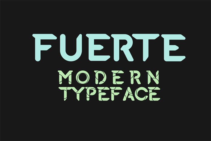 Fuerte Download these futuristic fonts and create awesome typography designs