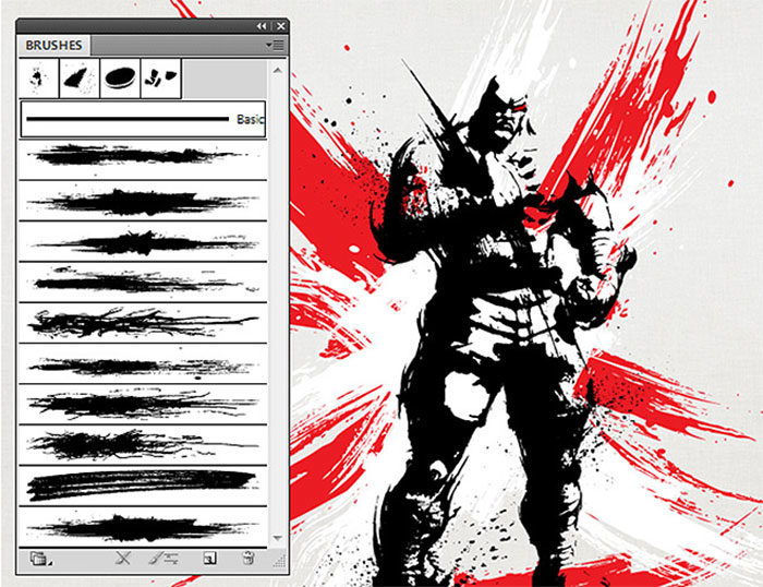 Free illustrator brushes to download and use for vector