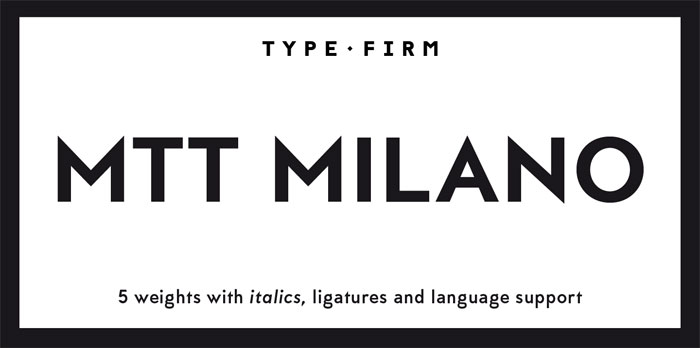 MMT-Milano Download these futuristic fonts and create awesome typography designs