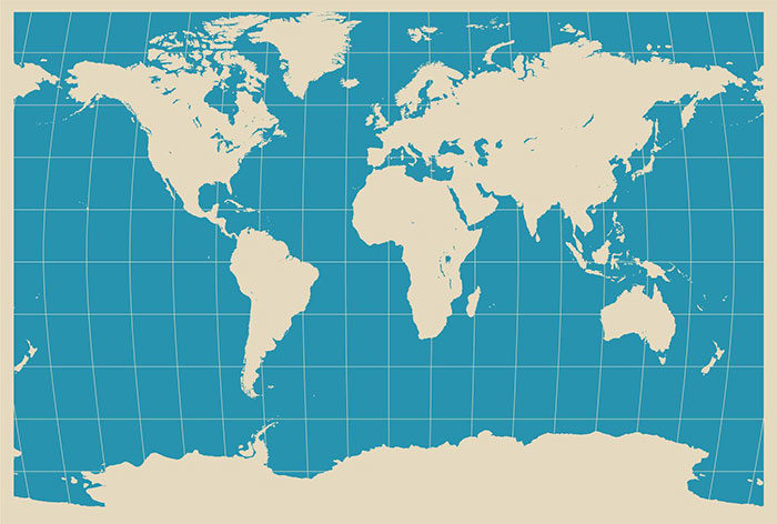 MacDaddy-World-700x472 World map vector graphics you can download with a few clicks