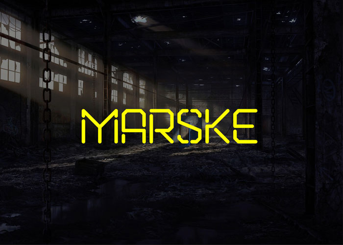 Marske Download these futuristic fonts and create awesome typography designs