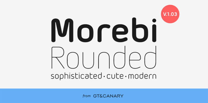 Morebi Download these futuristic fonts and create awesome typography designs