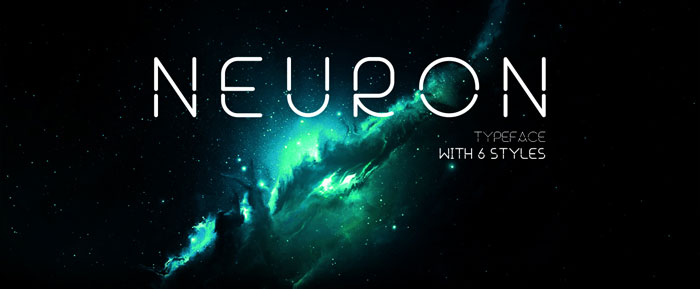Neuron Download these futuristic fonts and create awesome typography designs