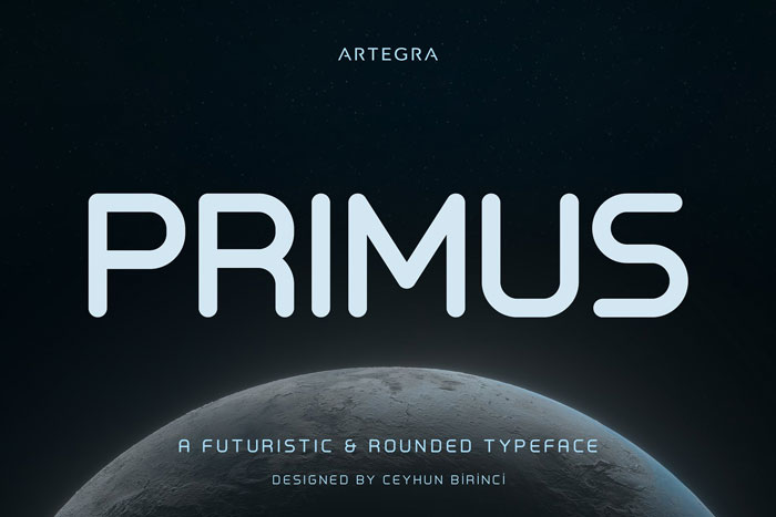 Primus Download these futuristic fonts and create awesome typography designs
