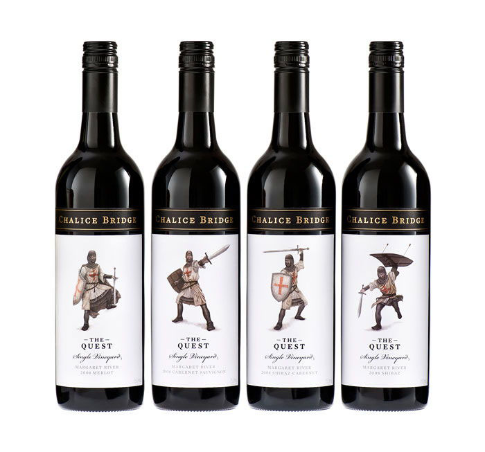 Quest Wine logo design: How to create stylish wine logos