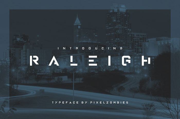 Raleigh Download these futuristic fonts and create awesome typography designs