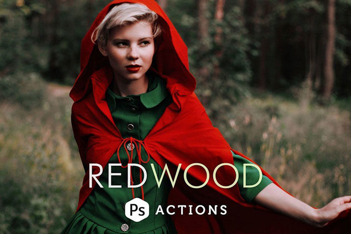 Redwood-Fairytale-Photoshop-Actions-700x466 Photoshop actions for portraits that you can download now