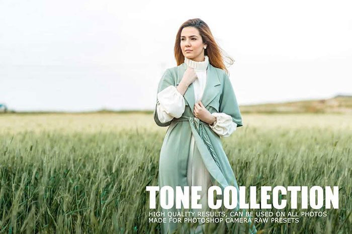 Tone-Collection-CameraRaw-Portrait-Photoshop-Actions-700x466 Photoshop actions for portraits that you can download now