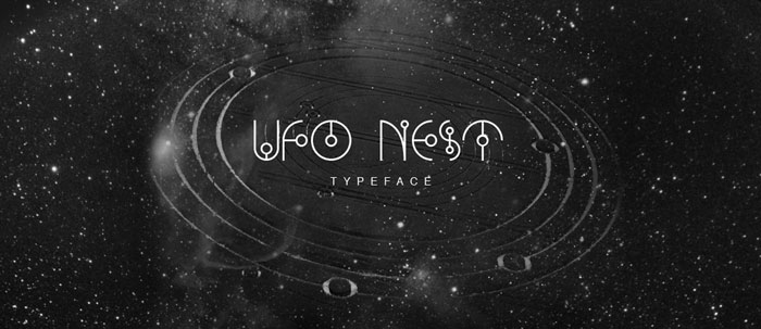 UFO-nest Download these futuristic fonts and create awesome typography designs