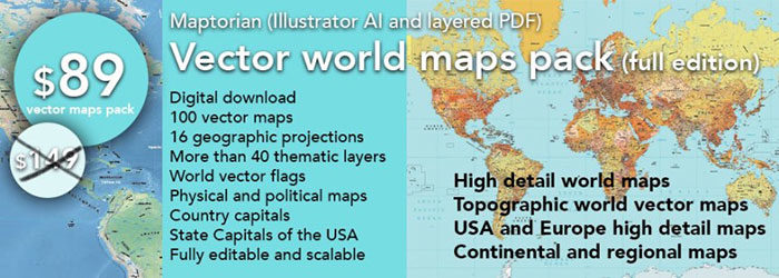 Vector-Maps-700x250 World map vector graphics you can download with a few clicks