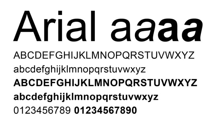 resume fonts to consider using on your cv before applying