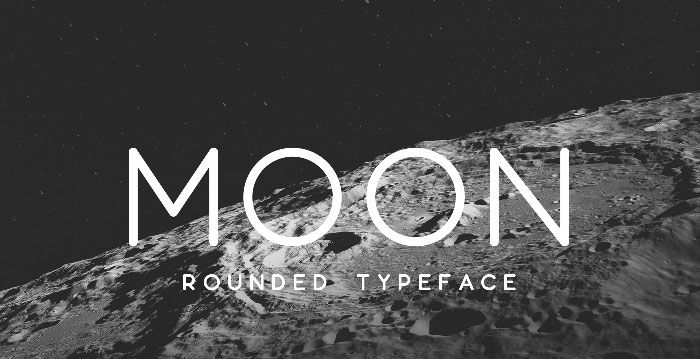 moon Download these futuristic fonts and create awesome typography designs