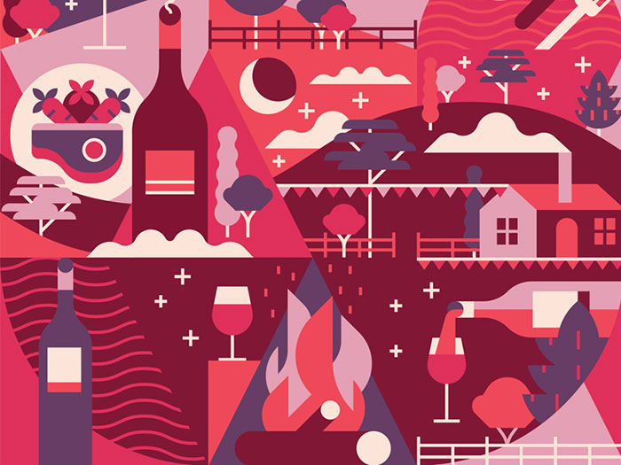 muti_dribbble-800x600-1 Using a red color palette and the various shades of red