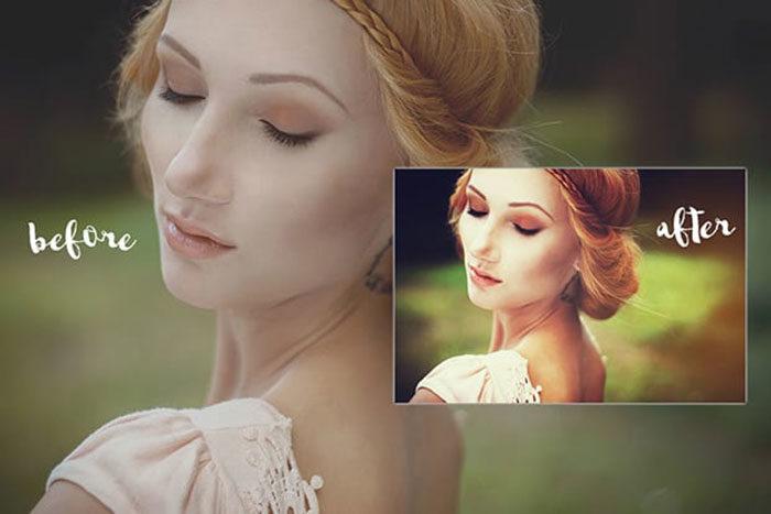 Summer Breeze Photoshop Action » Free Download Vector ...