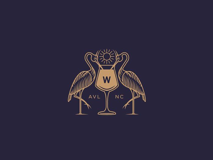 w Wine logo design: How to create stylish wine logos