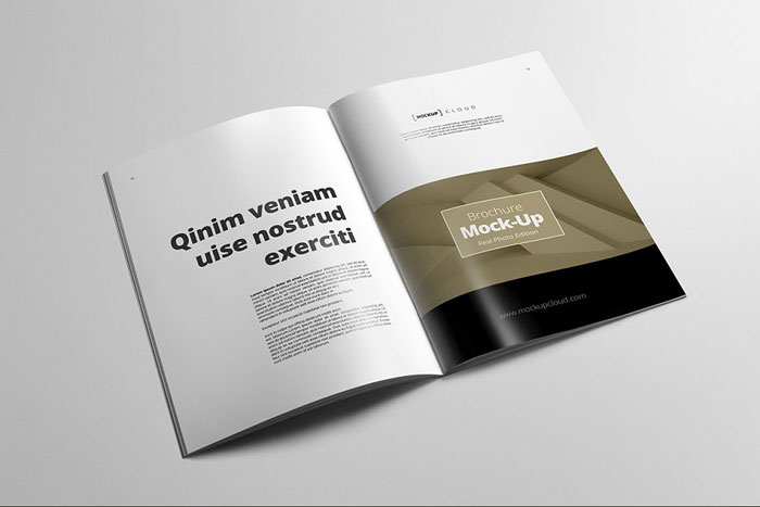A4-Portrait Great looking corporate brochure templates to check out