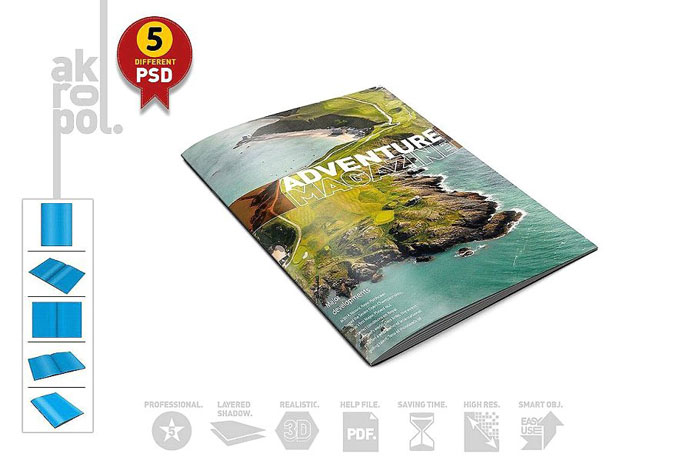 Akropol Great looking corporate brochure templates to check out