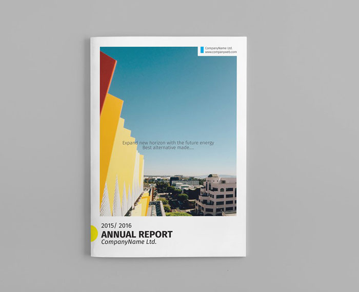 Great Looking Annual Report Design Examples And Templates