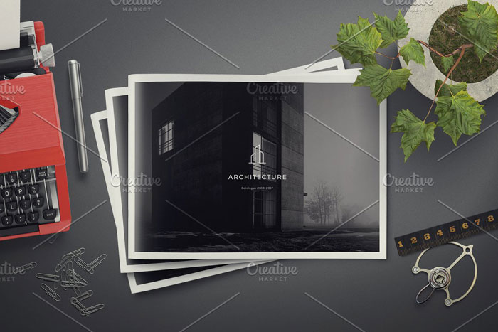 Architecture-landscape Great looking corporate brochure templates to check out