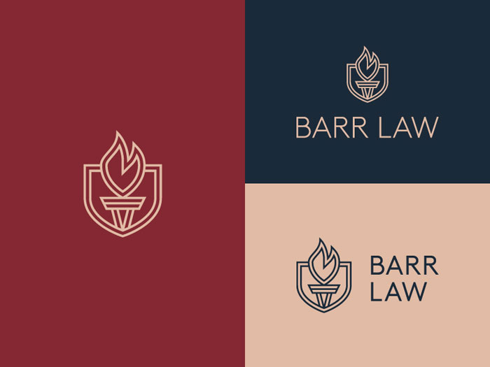 Bar How to design law firm logos: 22 lawyer logo designs
