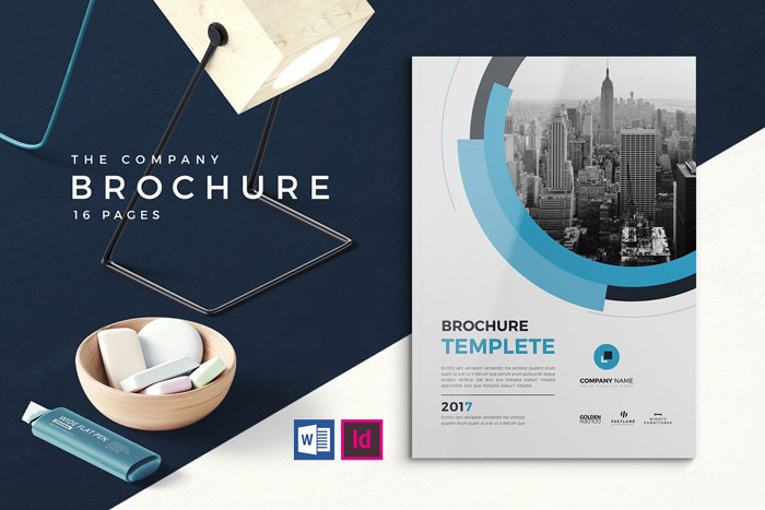 Company-brochure Great looking corporate brochure templates to check out