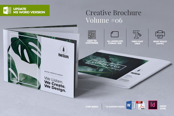 Creative-Brochure-06 Great looking corporate brochure templates to check out