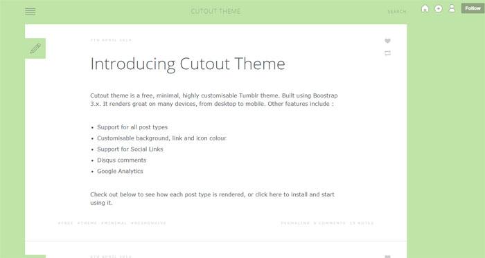 64 Minimalist Tumblr Themes You Should Make Use Of
