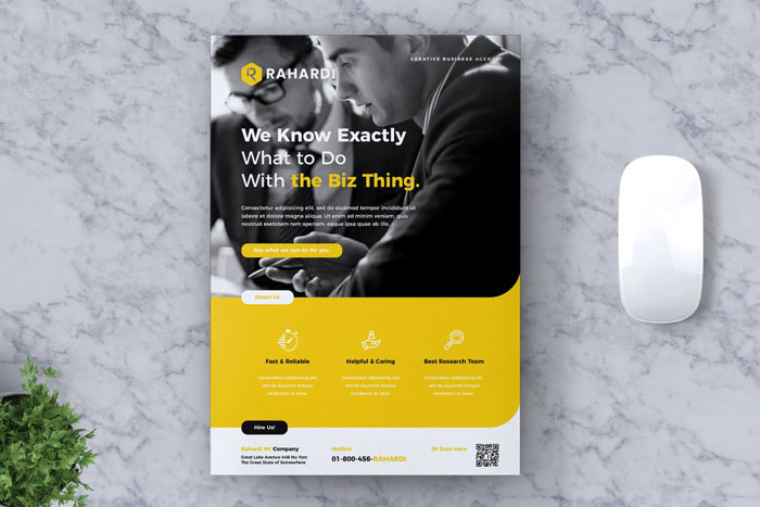 Flyer-corporate Great looking corporate brochure templates to check out