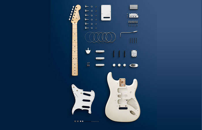 Guitar Knolling photography what it is and great examples to inspire you