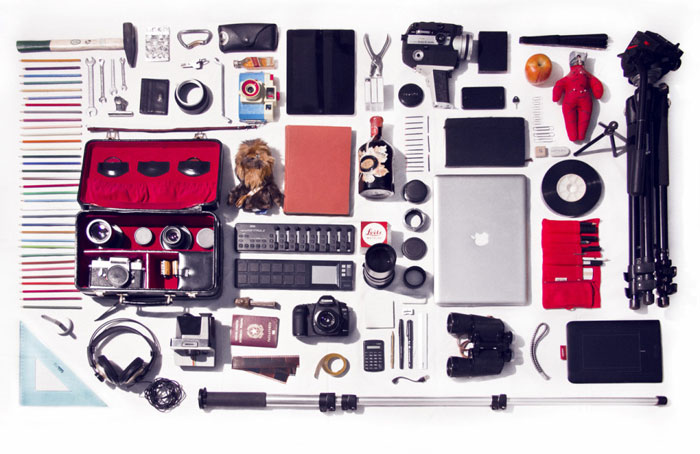 Knolling-photo Knolling photography what it is and great examples to inspire you