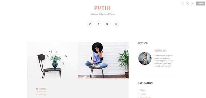 64 Minimalist Tumblr Themes You Should Make Use Of