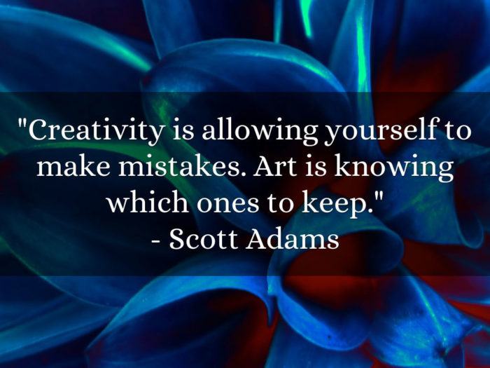 creativity-700x525 Inspirational art quotes from artists and famous people