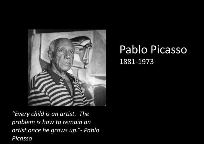 everychild-700x494 Inspirational art quotes from artists and famous people