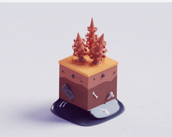 hiddenlayers-700x559 Low poly art: What you need to know about it (plus cool examples)