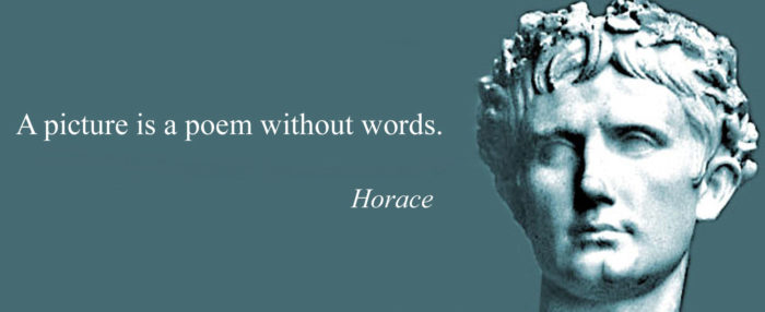 horrace-700x286 Inspirational art quotes from artists and famous people