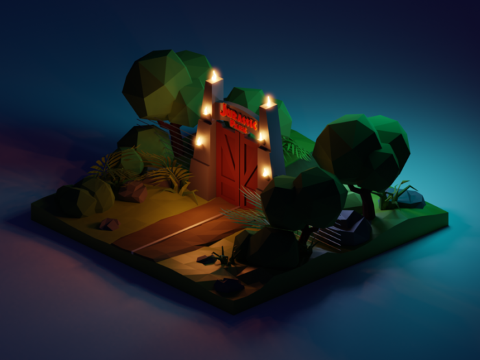jp-night5_2x-700x525 Low poly art: What you need to know about it (plus cool examples)