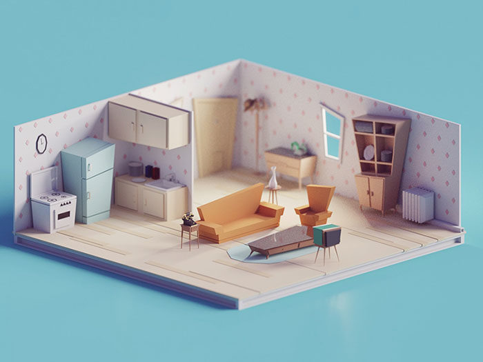 living_room_8x6_d-700x525 Low poly art: What you need to know about it (plus cool examples)