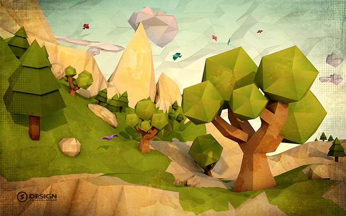 lowpoly-700x438 Low poly art: What you need to know about it (plus cool examples)