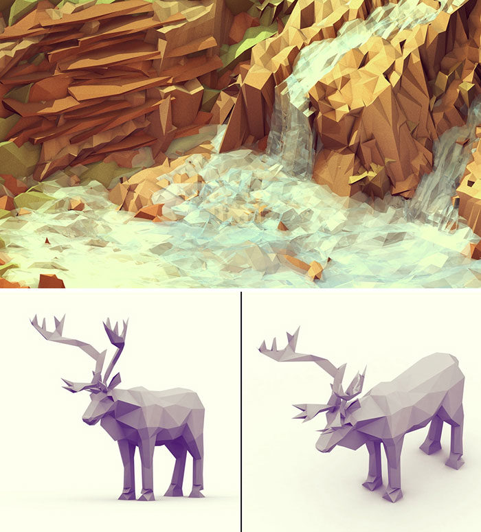 nature-700x775 Low poly art: What you need to know about it (plus cool examples)