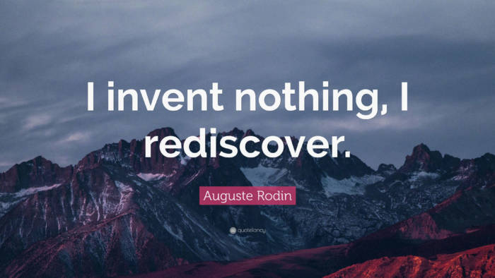 nothing-700x394 Inspirational art quotes from artists and famous people