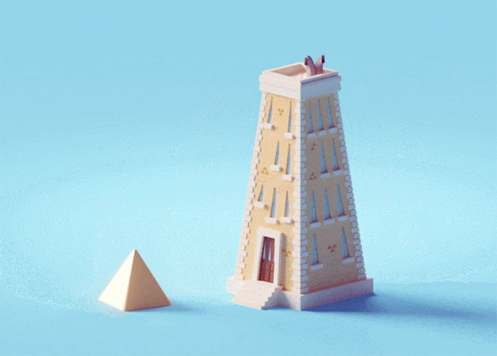 shapes_building-700x502 Low poly art: What you need to know about it (plus cool examples)