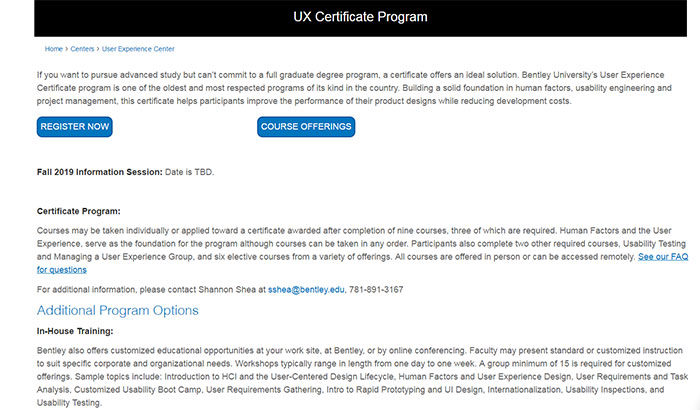 bentey-700x410 UX design certification: The best programs where you can get one