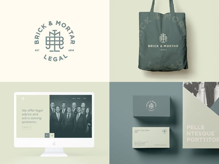 brick___legal_identity-04-700x525 How to design law firm logos: 22 lawyer logo designs