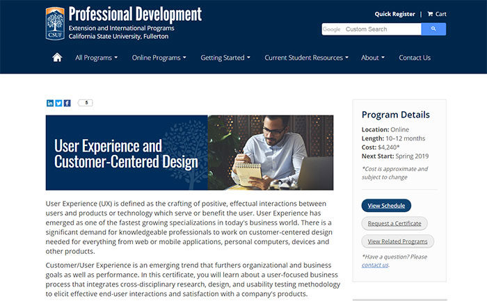 california-700x433 UX design certification: The best programs where you can get one