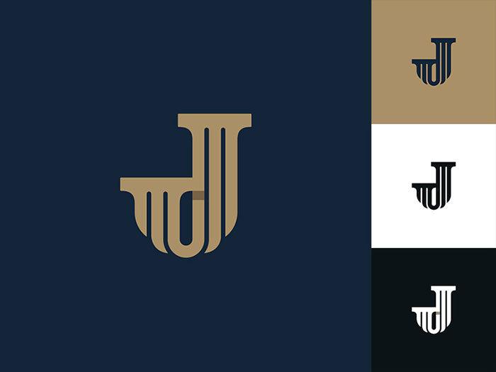 joshua-b-clark-law-logo-700x525 How to design law firm logos: 22 lawyer logo designs