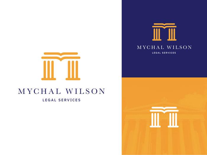 mychal_wilson-01_2x-700x525 How to design law firm logos: 22 lawyer logo designs
